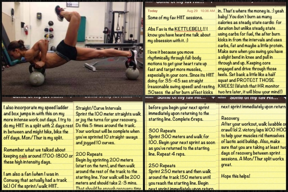 HIIT Workouts- initiate ::After Burn Affect::